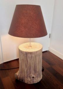 Le rondin de bois en déco